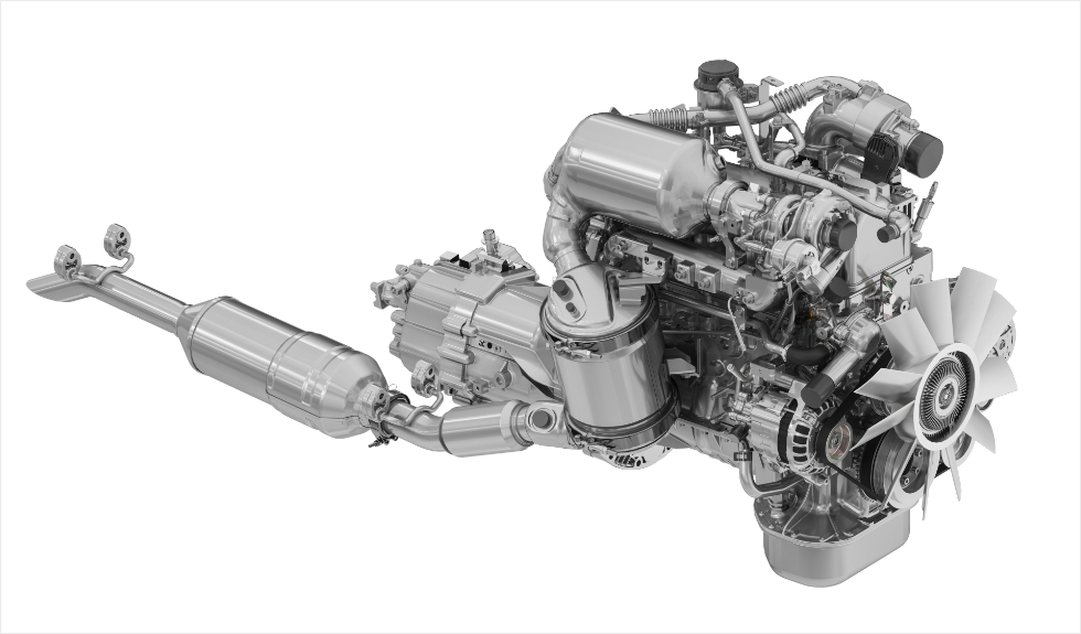 Force Gurkha 2021 FM 2.6 CR Engine, Mercedes Derived Engine